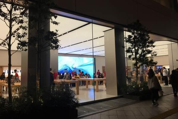 新宿のApple Store