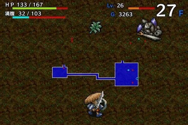 ダンジョン探索型RPGゲームで、日本の代表的なローグライクゲームの1つ