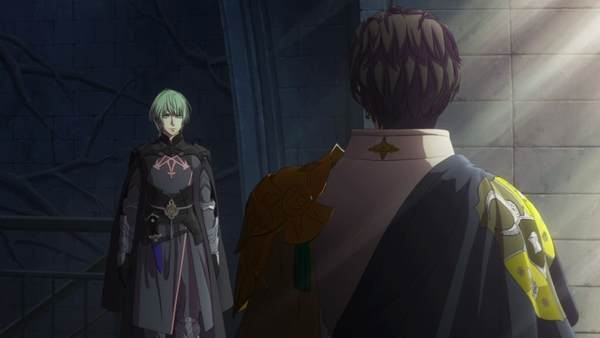主人公ベレトとクロードの再会