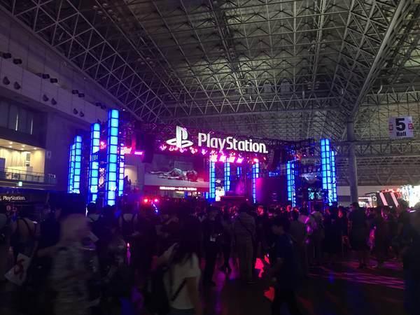 Play Stationブース