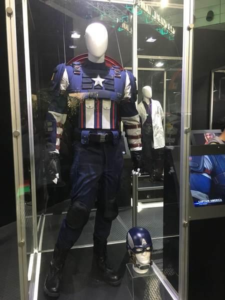 キャプテンアメリカとハルク