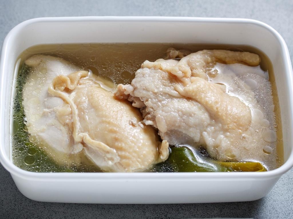 鶏 タレ 茹で
