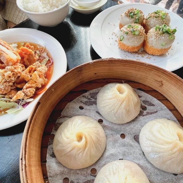 上海小籠包 厨房 阿杏の小籠包