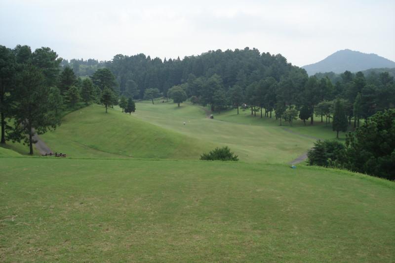 別府の森ゴルフ倶楽部 西5番