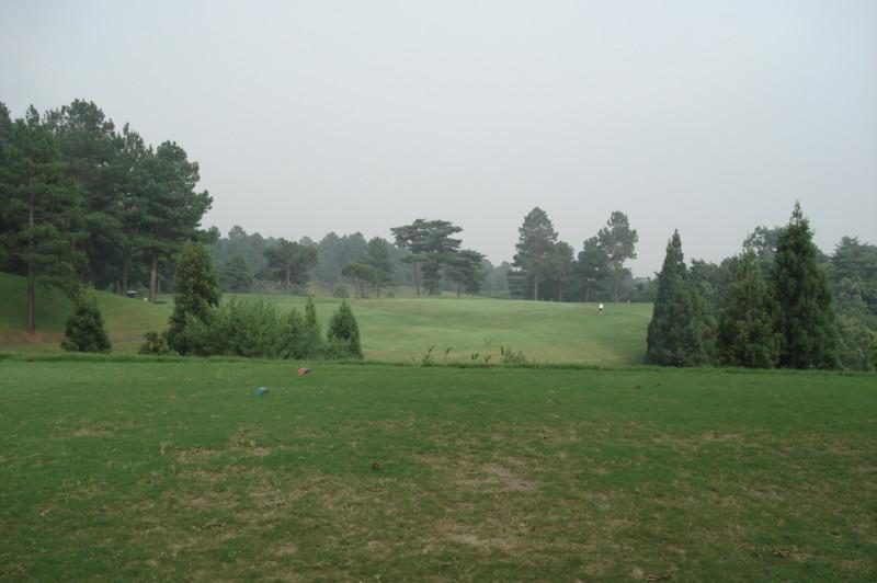 別府の森ゴルフ倶楽部 西8番