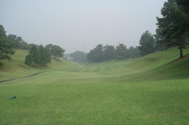 別府の森ゴルフ倶楽部 西9番