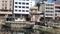 神田川から昆虫大学開催ビルを見る