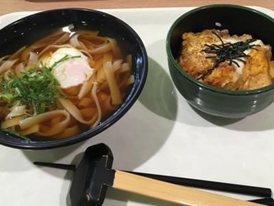 きしめん&ミニ丼