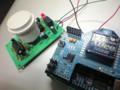 [Arduino]Arduino と XBee と 人感センサーで教授在席監視システムを作ってみた.白
