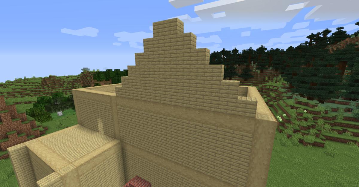 屋根を作る準備