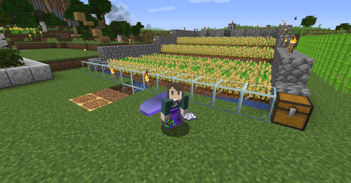 自動収穫畑