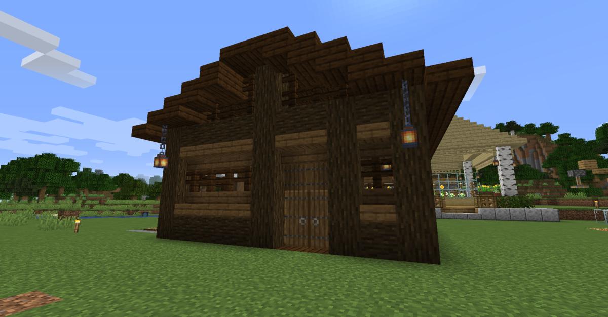 小屋の全体図