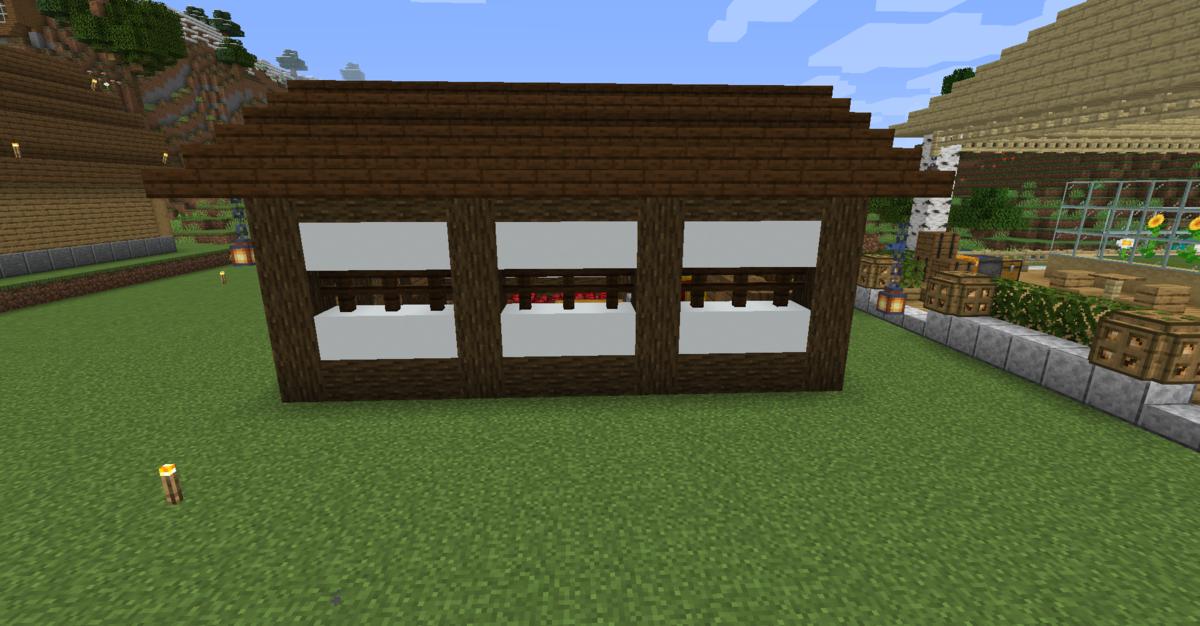 小屋の右側の様子