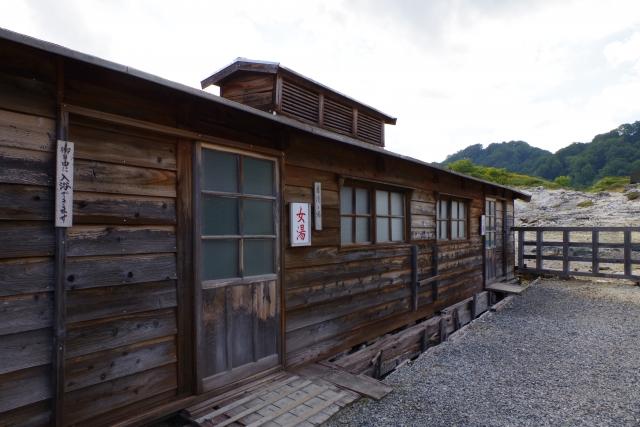 恐山温泉湯小屋