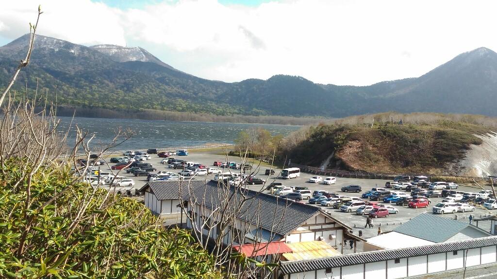 恐山駐車場