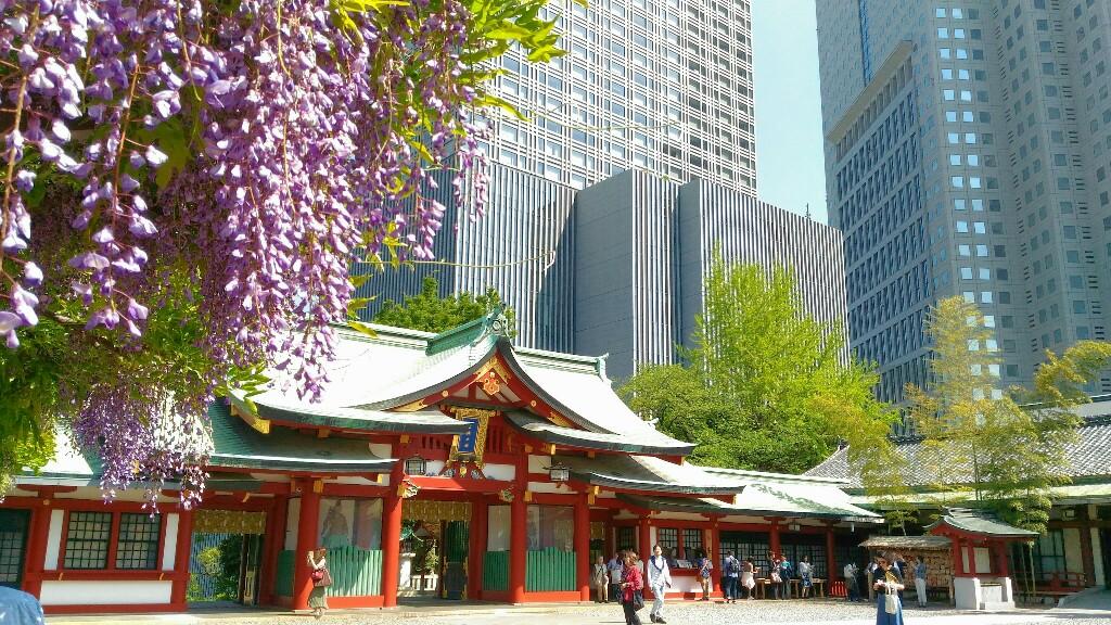 日枝神社山門