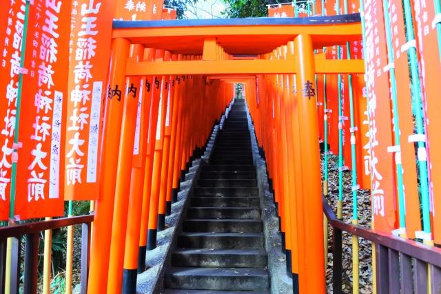 日枝神社 千本鳥居