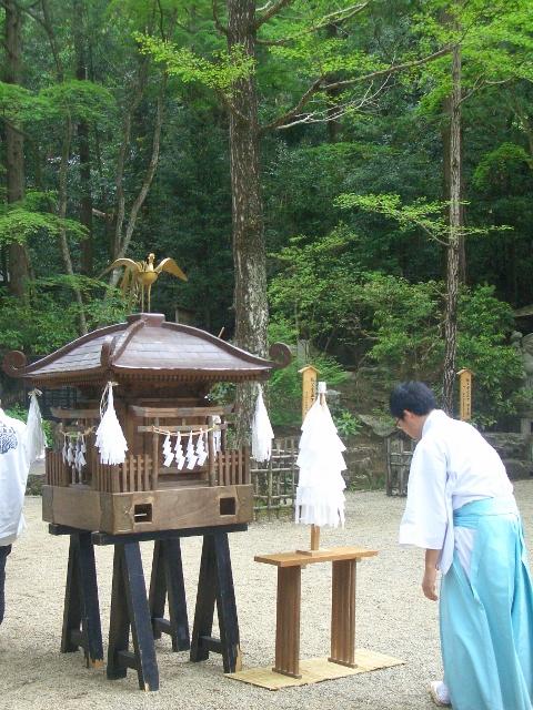 宝登山神社 奥宮祭のお神輿