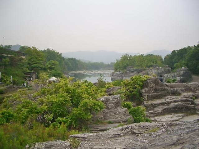 長瀞渓谷 岩畳