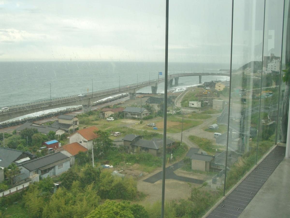 JR日立駅 海の眺め