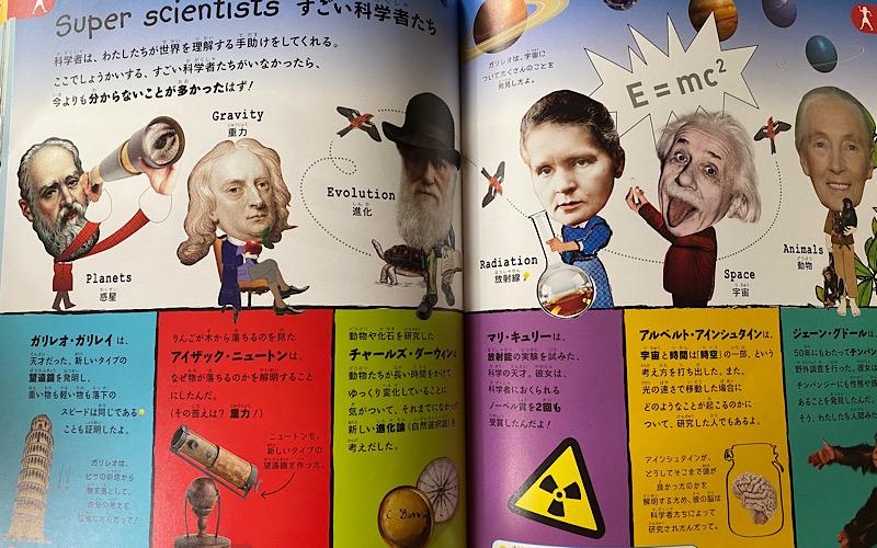 科学者たちのページの画像