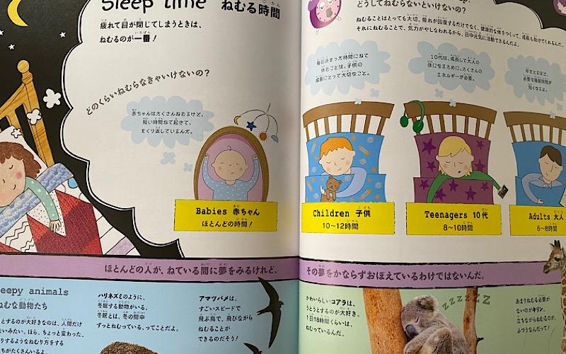 眠ることのページの画像