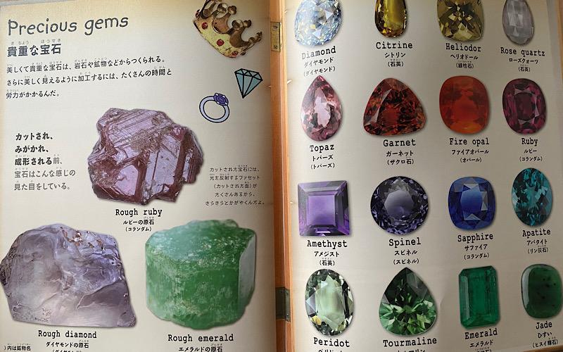 宝石のページの画像