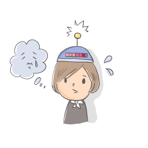 感情をキャッチするイメージ図