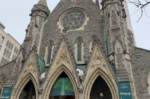 クライストチャーチ大聖堂(Christ Church Cathedral)も。