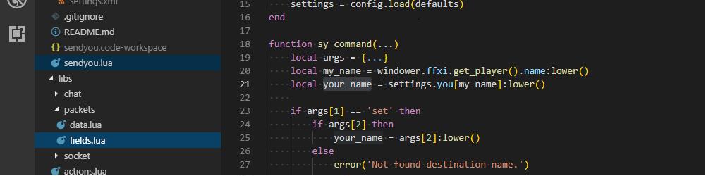 Windowerアドオンを作ってみよう!その2[FF11] - よしざうるすの