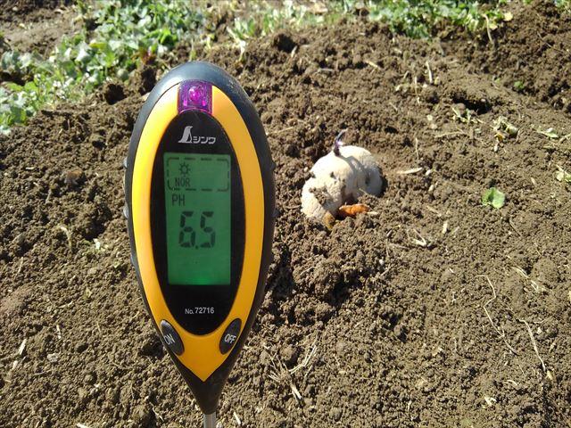 土壌pH測定器の写真