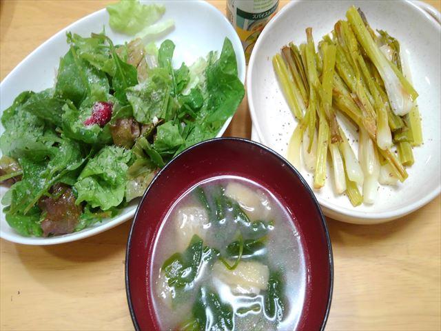 家庭菜園の野菜を使ったメニュー3品