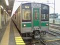 JR東日本701系車両 東北本線黒磯駅