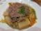 野菜牛肉スープ