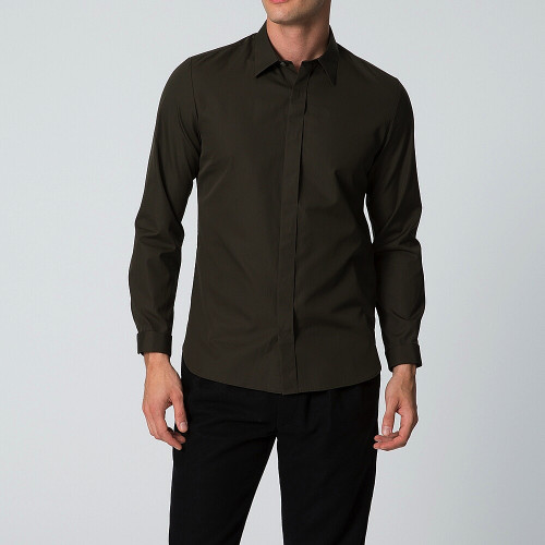 MEN レギュラーカラーシャツ(長袖)