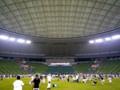 20100813 西武ドーム試合後の外野ウォーキング