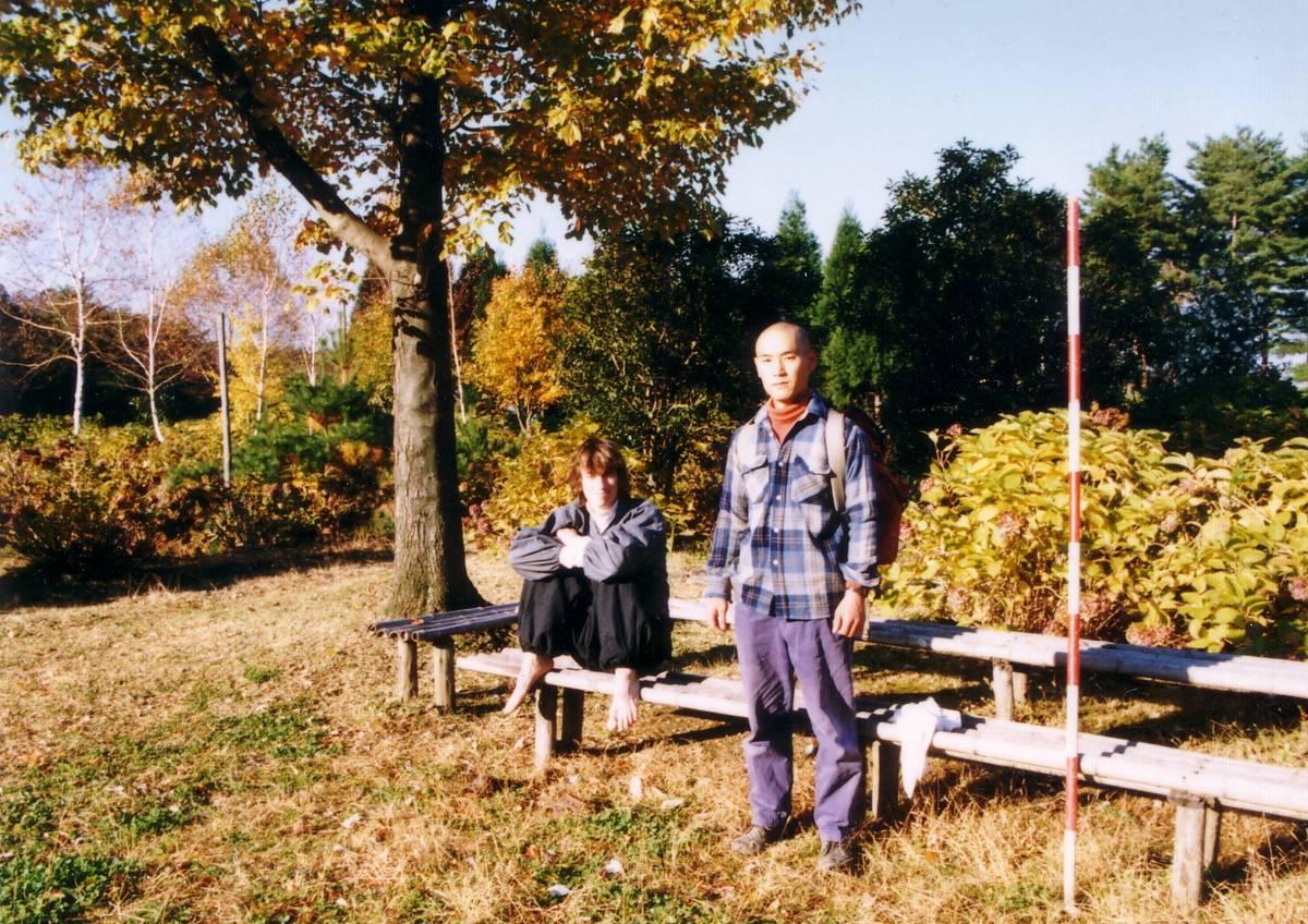 1990年、安泰寺に上山してすぐ
