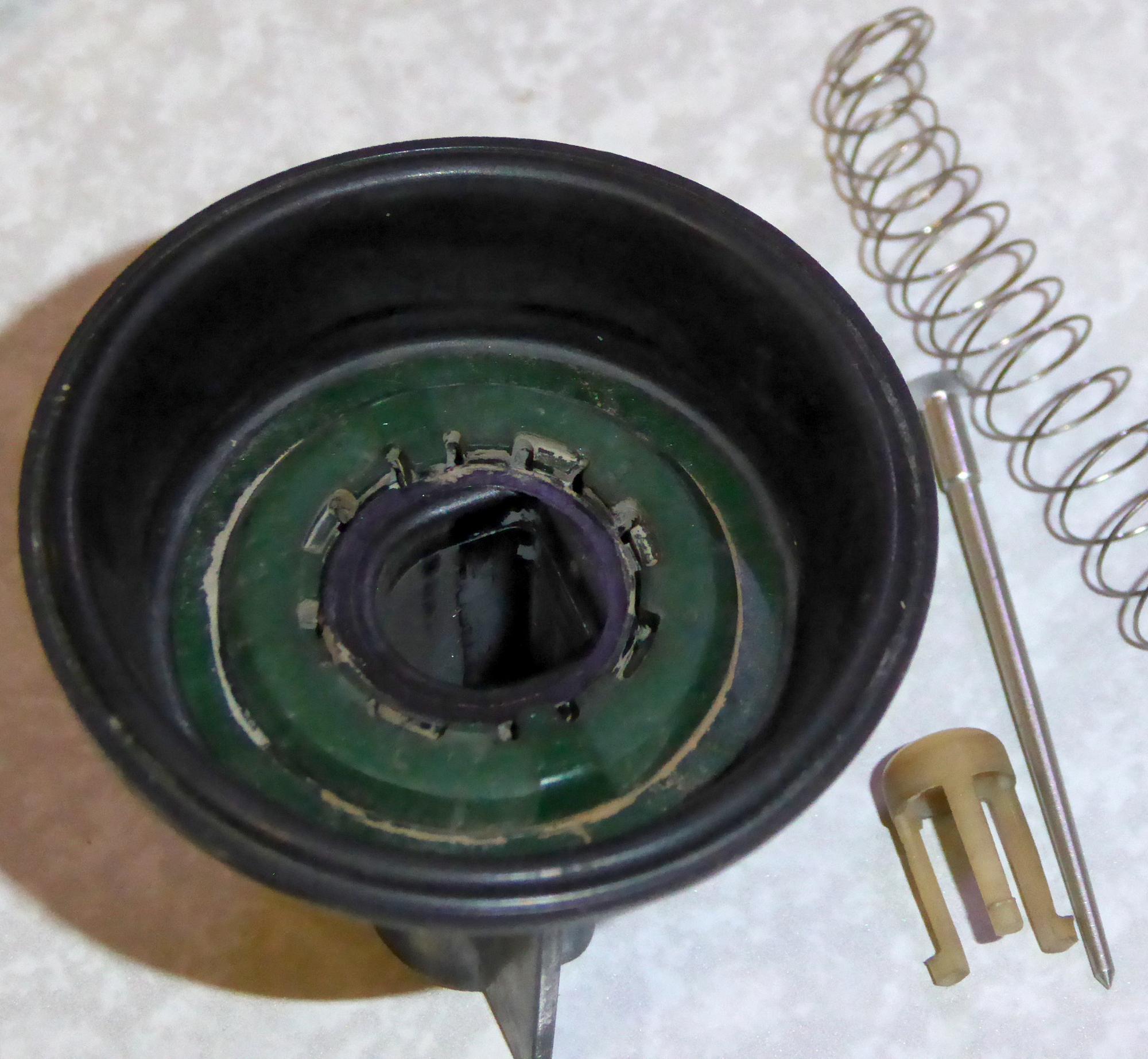 RV125JPキャブレター ダイヤフラム