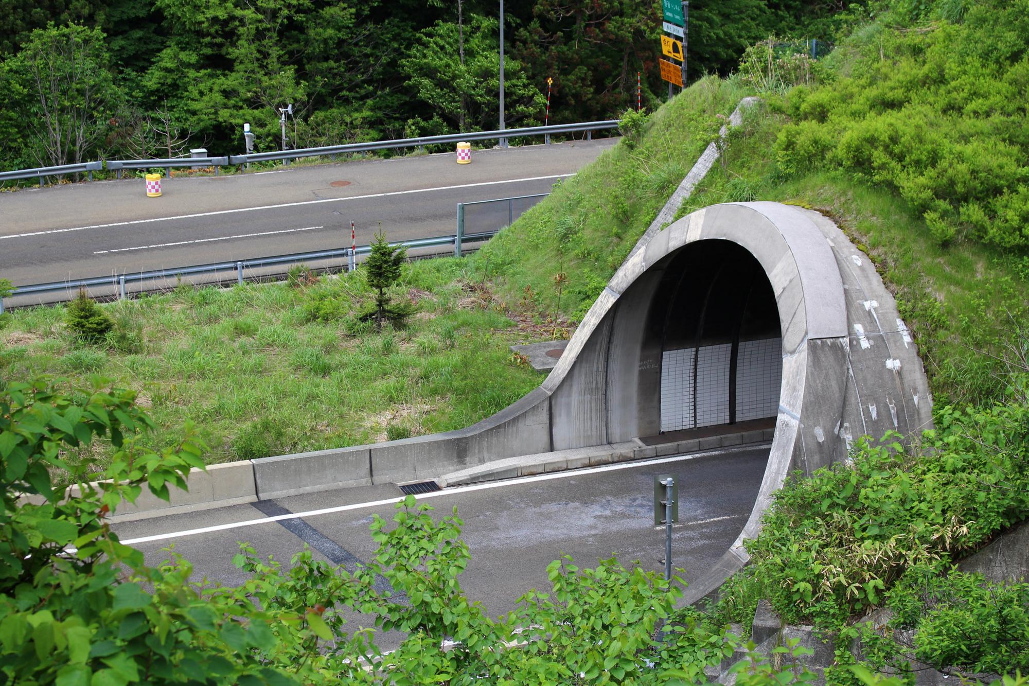 笹谷トンネル 山形側