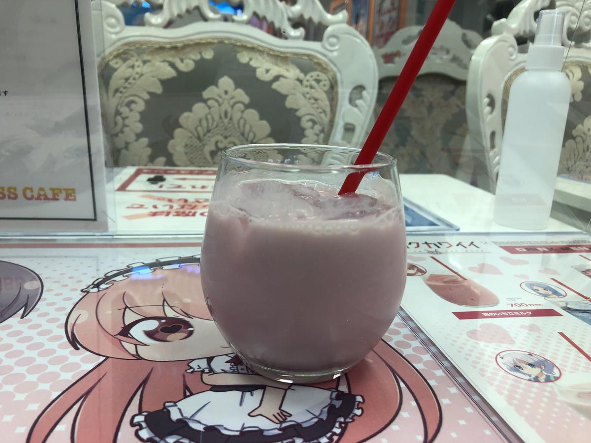 カシスですって! トニカクカワイイコラボなプリンセスカフェ。アキバで秋葉原のコラボ。カシスは要ちゃん!