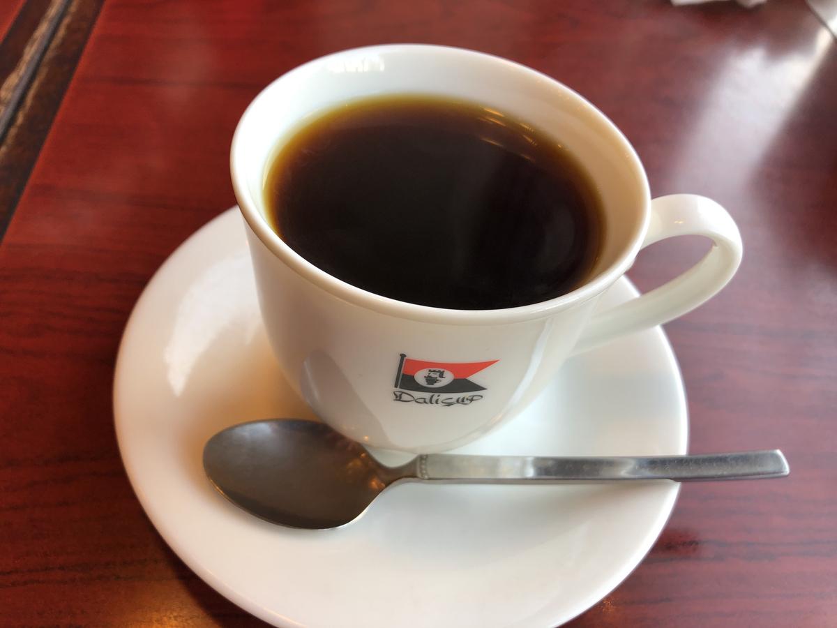 アメリカンコーヒー。アメリカンって言いたいだけのざれんくん。