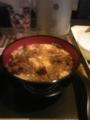 牛丼と笊蕎麦