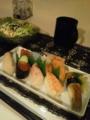 [寿司] 晩ご飯