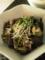 生姜焼とチーズ焼とコールスローサラダ