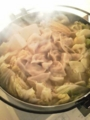 [晩ご飯] 餃子鍋