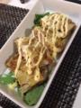 麻浦ニラ春雨 キャベツ納豆フワ卵やき 小松菜と厚揚げと豚肉の煮物 キ