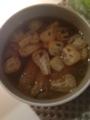 チーズと大葉の豚肉巻き なすと揚げの味噌汁 納豆とひき肉のレタスづ