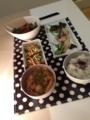 レタスと里芋の味噌汁 納豆たまごやき こんにゃく豚バラ大根 ブリ塩焼