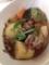 塩さば 青梗菜ともやしののオイスター炒め 豚バラ大根とじゃがいもの