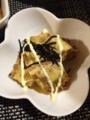 たらと高野豆腐のすき煮 納豆玉子焼き ほうれん草ともやしのおかかあ